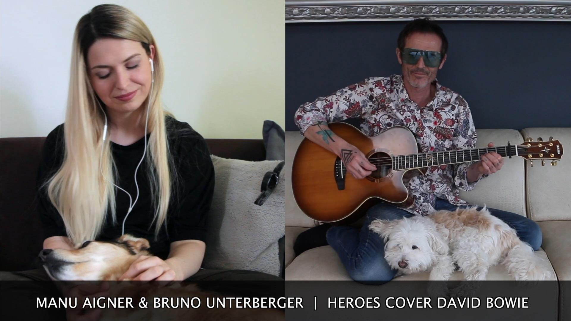 Manu Aigner | Bruno Unterberger | Heroes David Bowie